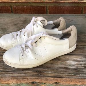 Vince Varin Leather with Suede Sneakers